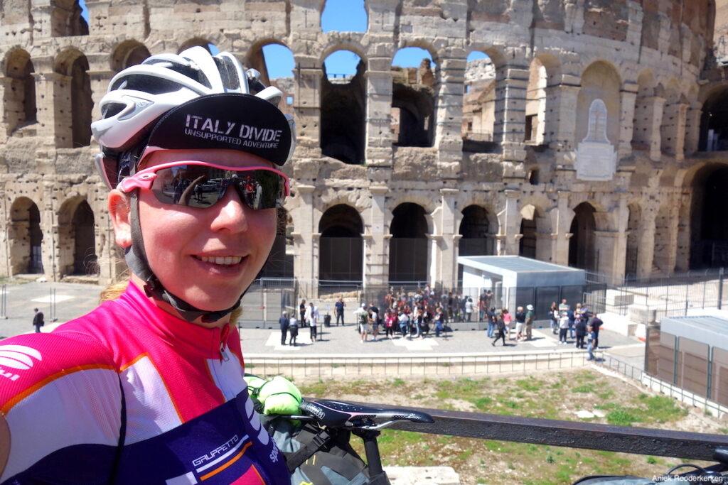 Fietsen naar Rome: Colosseum