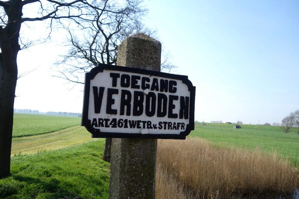 Toegang verboden! Fort Everdingen