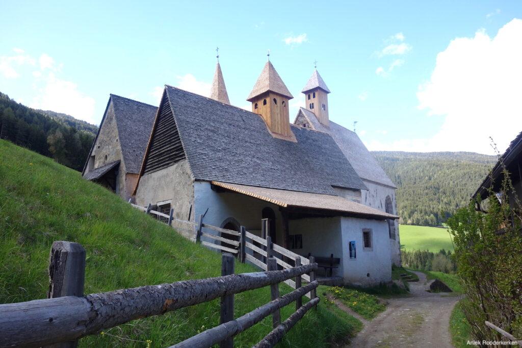 De drie kerken van Tre Chiese