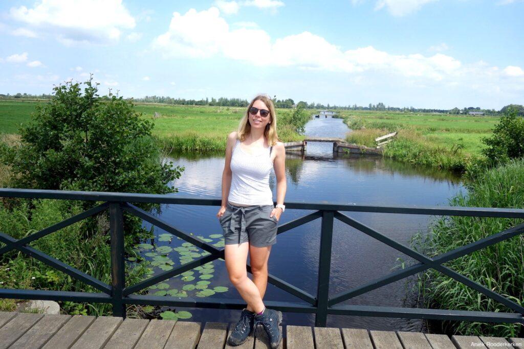 Wandelen door de polder van Demmerik in de Ronde Venen