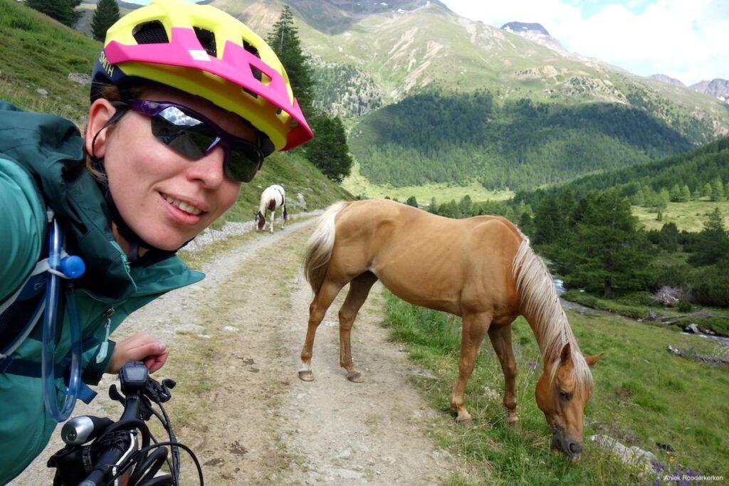 Op de e-mountainbike in Livigno