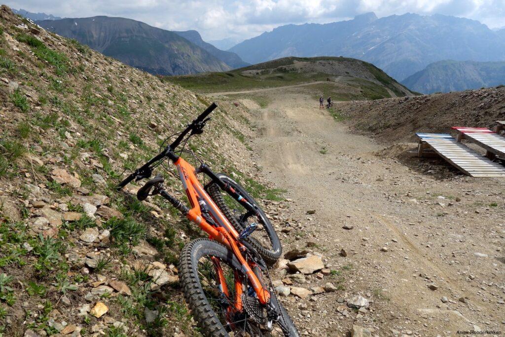 Flowtrails met de mountainbike in Livigno