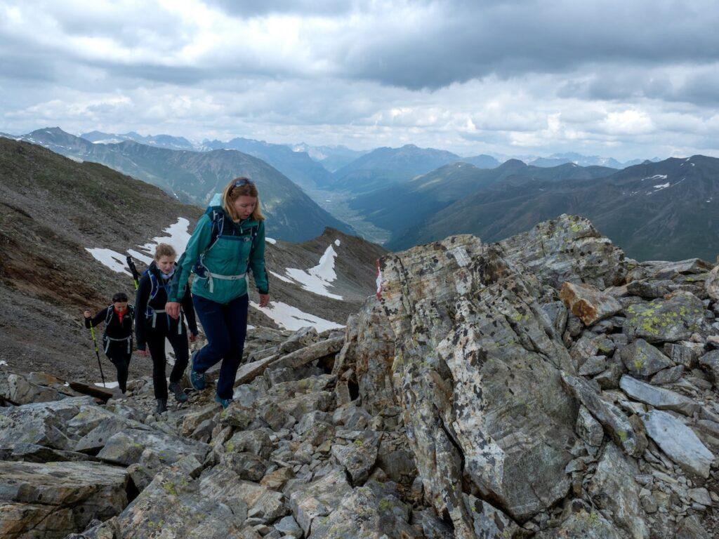 Naar de top van de Monte Vago of Al Vach, foto Fabio Borga