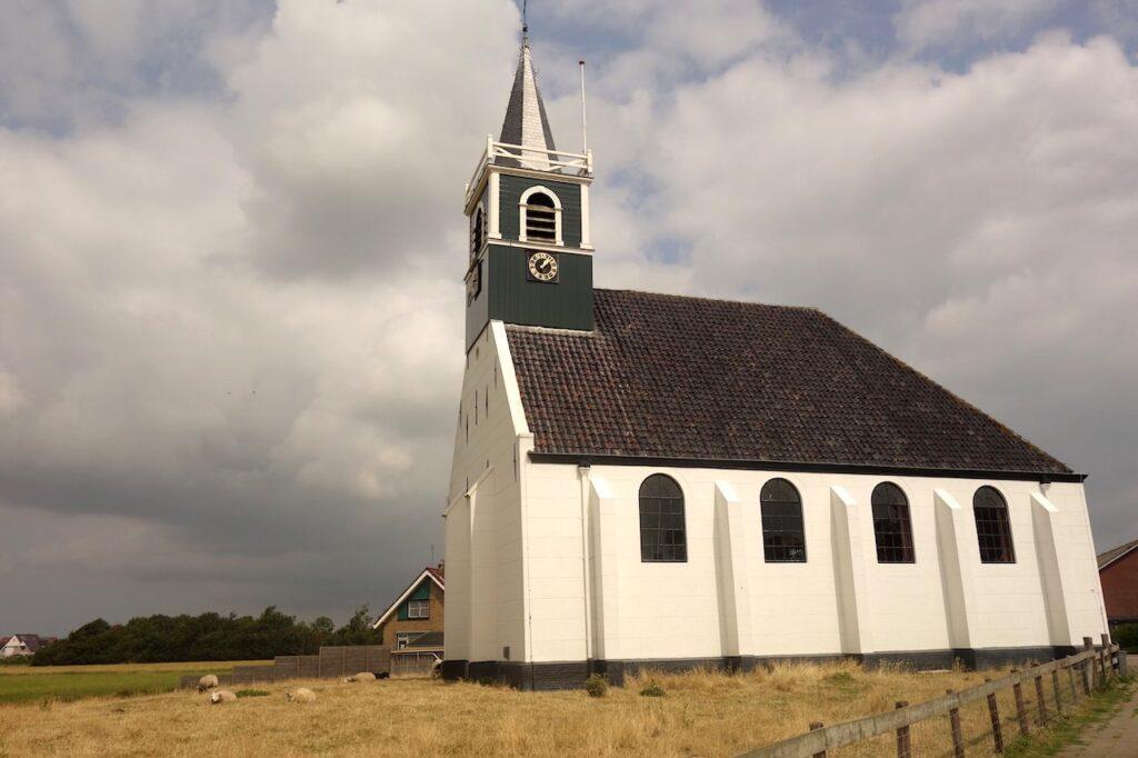 Het kerkje van Oudeschild op Texel