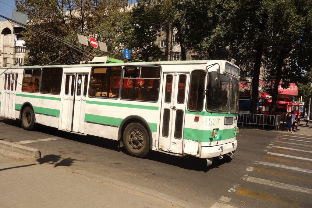 Openbaar vervoer in Bisjkek