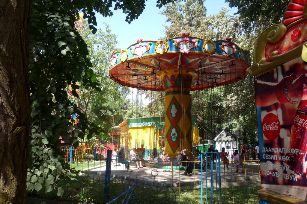 Panfilov Park in Bisjkek