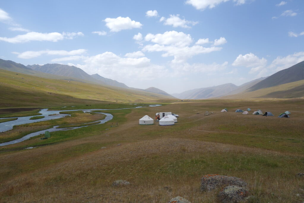 Biosphere Expeditions Base Camp