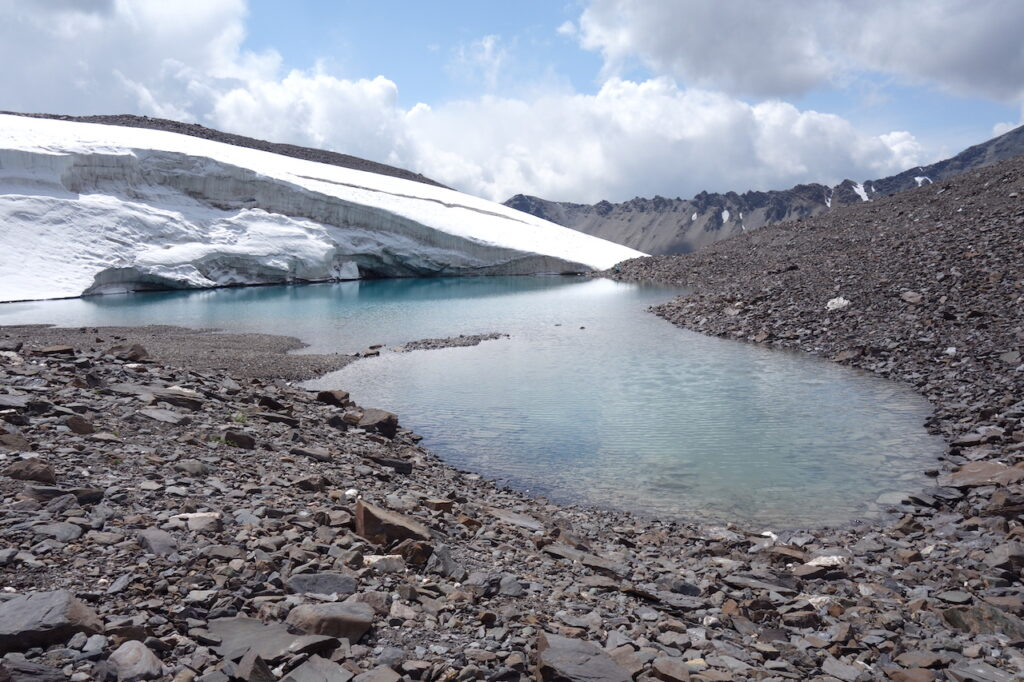 Gletsjer in Kirgizië