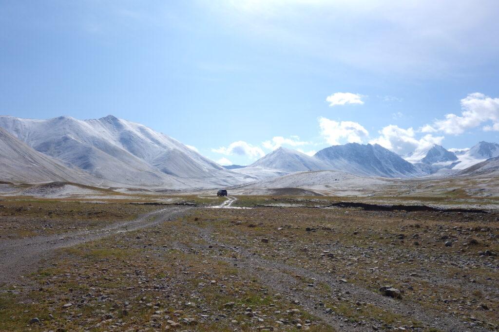 Tien Shan gebergte in Kirgizië