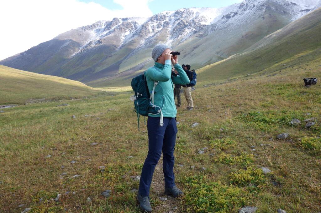 Onderzoek naar het sneeuwluipaard in Kirgizië