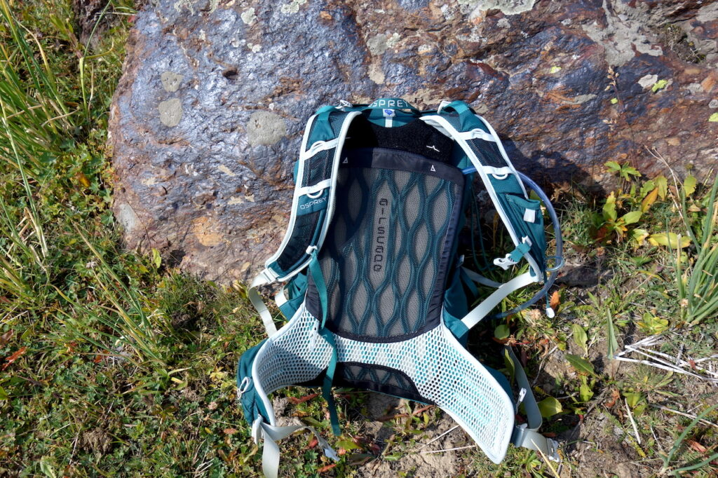 AirScape rugpand Osprey Tempest 30