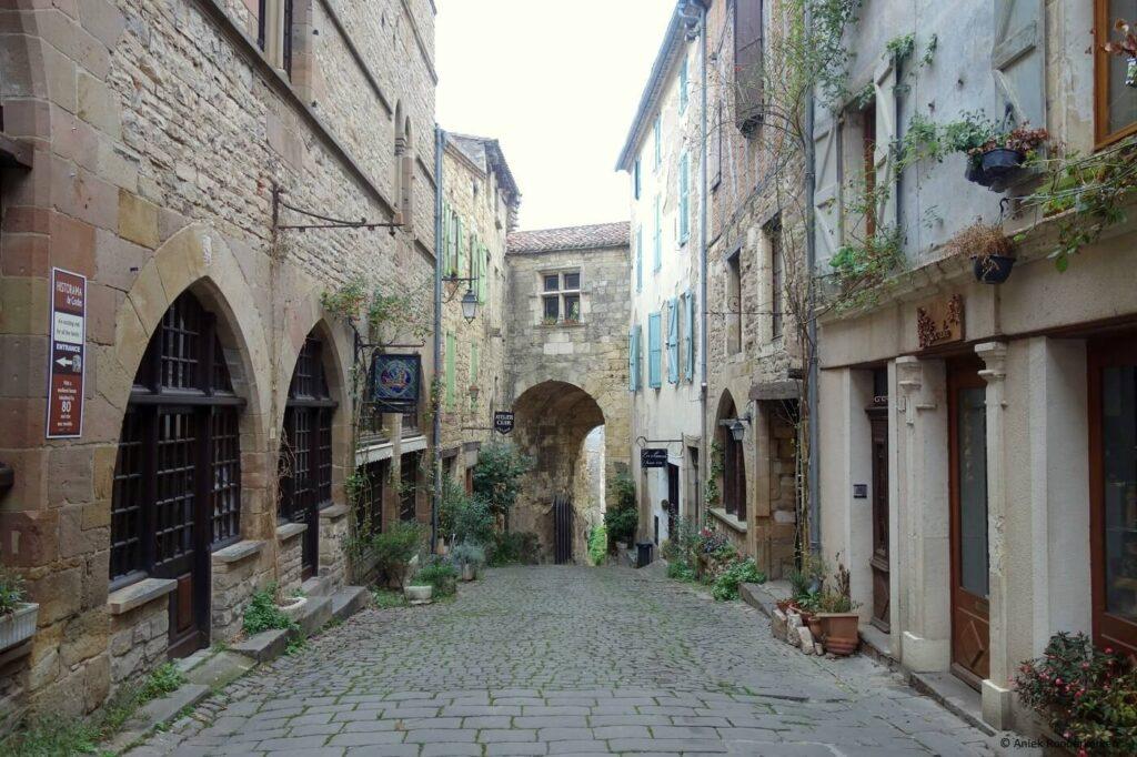 Cordes sur Ciel, een van de mooiste plaatsen in de Tarn