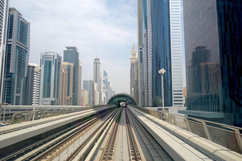 Naar de Burj Khalifa in Dubai