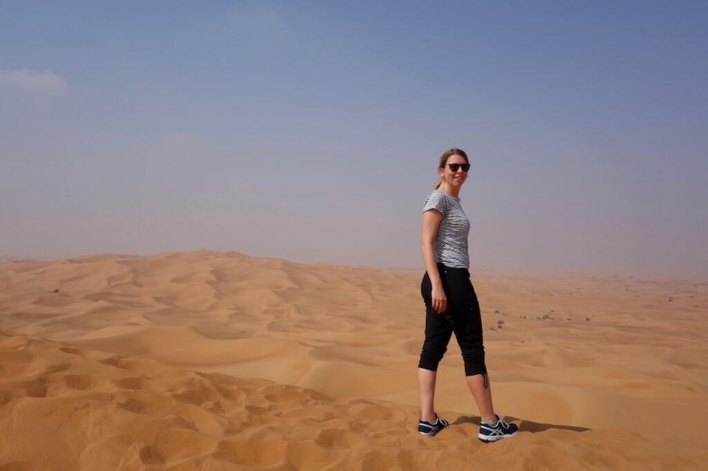Excursie naar de woestijn bij Dubai