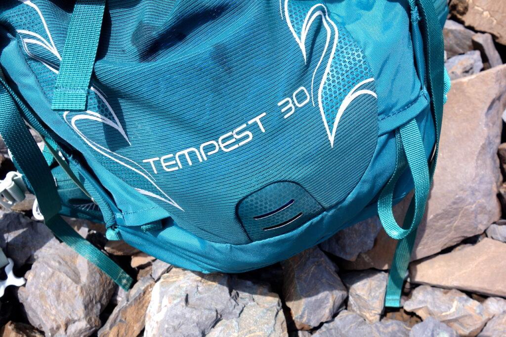 Mesh voorvak Osprey Tempest 30