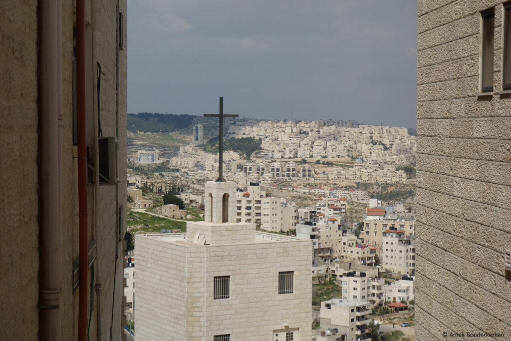 Panorama van Bethlehem