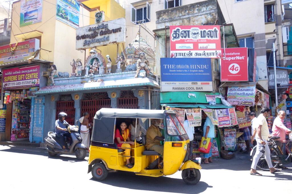 Rickshaw Challenge in India