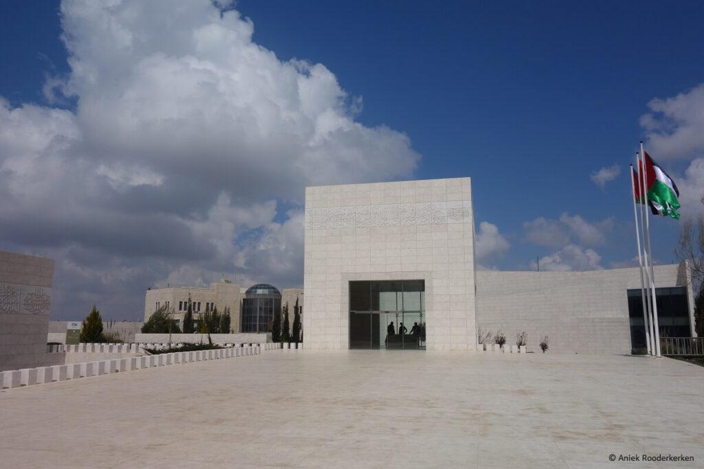 Tombe van de Palestijnse leider Yasser Arafat