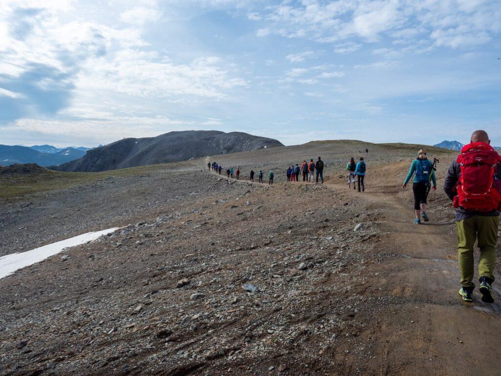 Wandelen in Livigno, foto door Fabio Borga