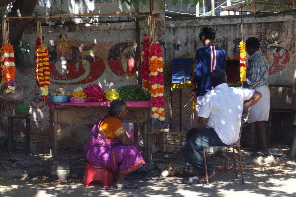 Chennai in het Zuiden van India