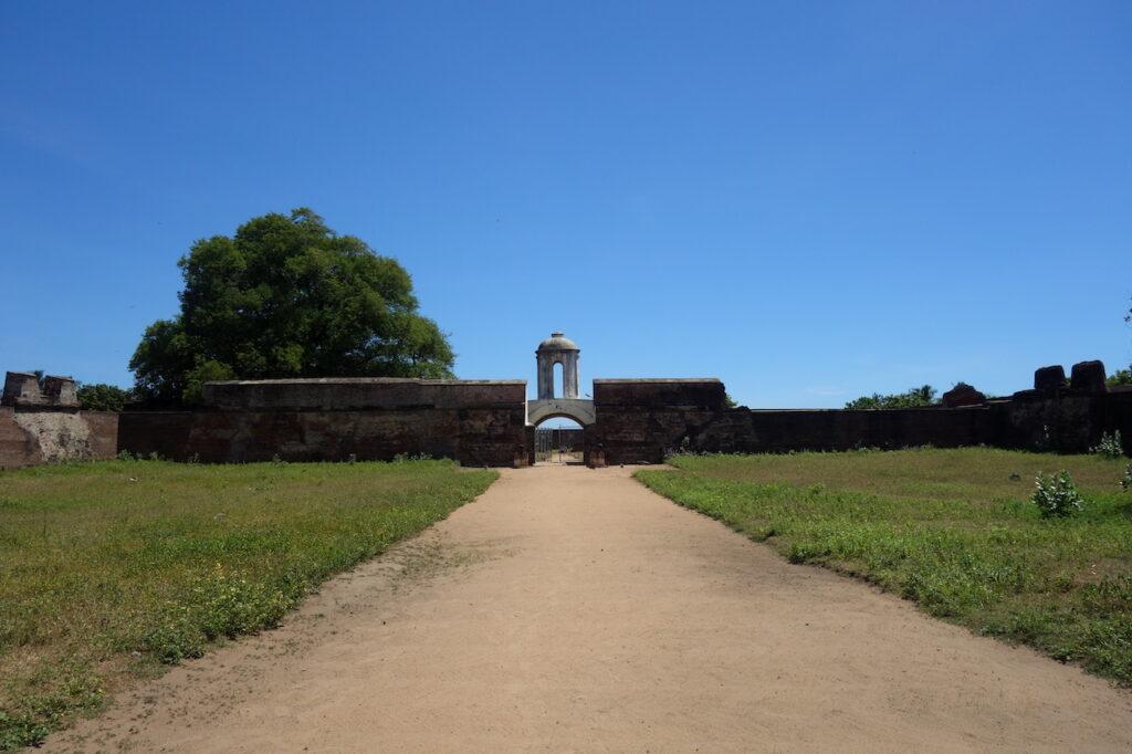 Nederlandse fort Sadras