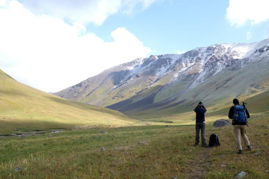 Biosphere veldwerk in Kirgizië