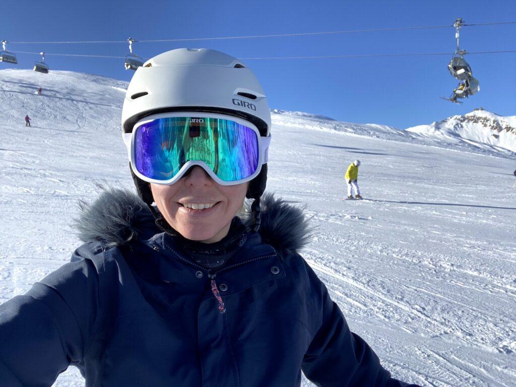 Wintersport in Livigno, Italië