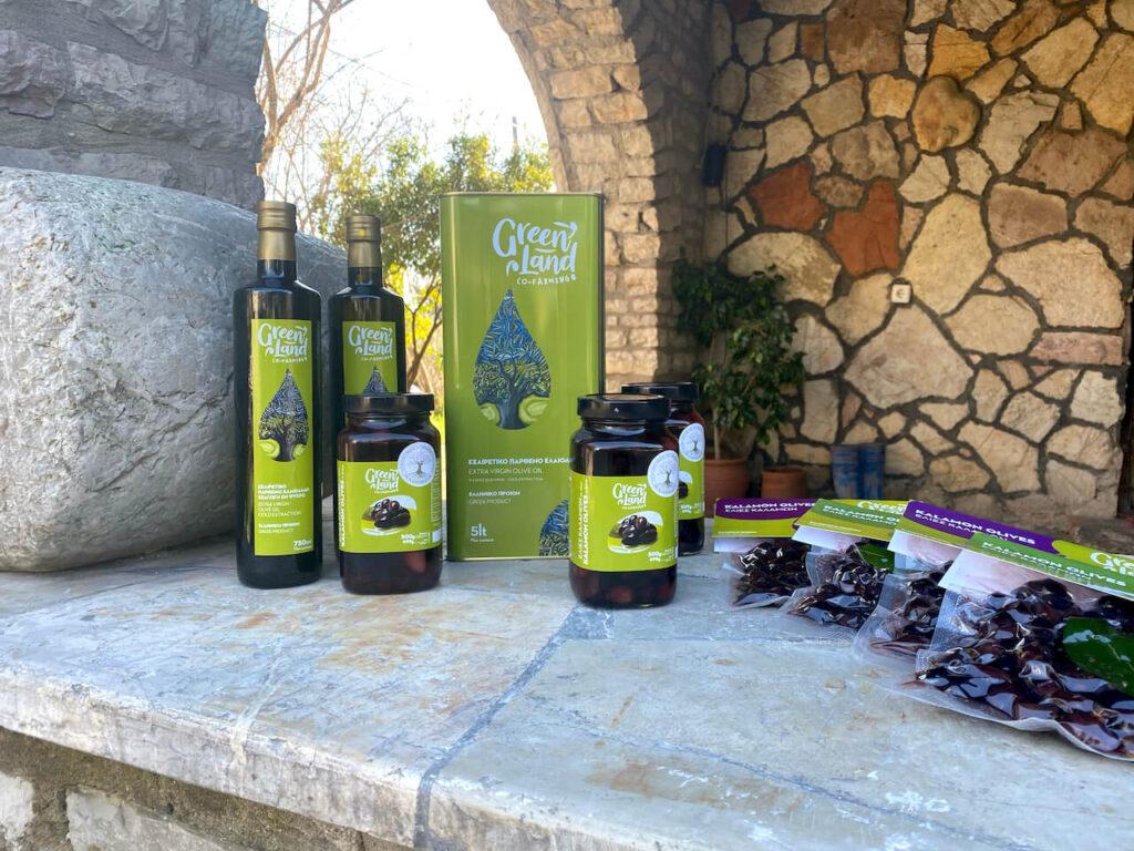 Greenland Kalamáta olijven en olijfolie