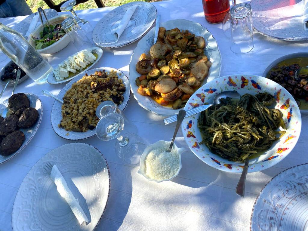 Uitgebreide lunch in Sterna