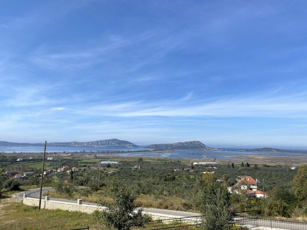 Uitzicht op Navarino Baai