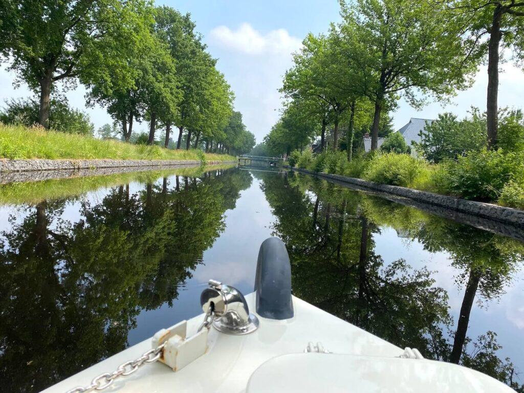 Turfroute in Zuidoost Friesland