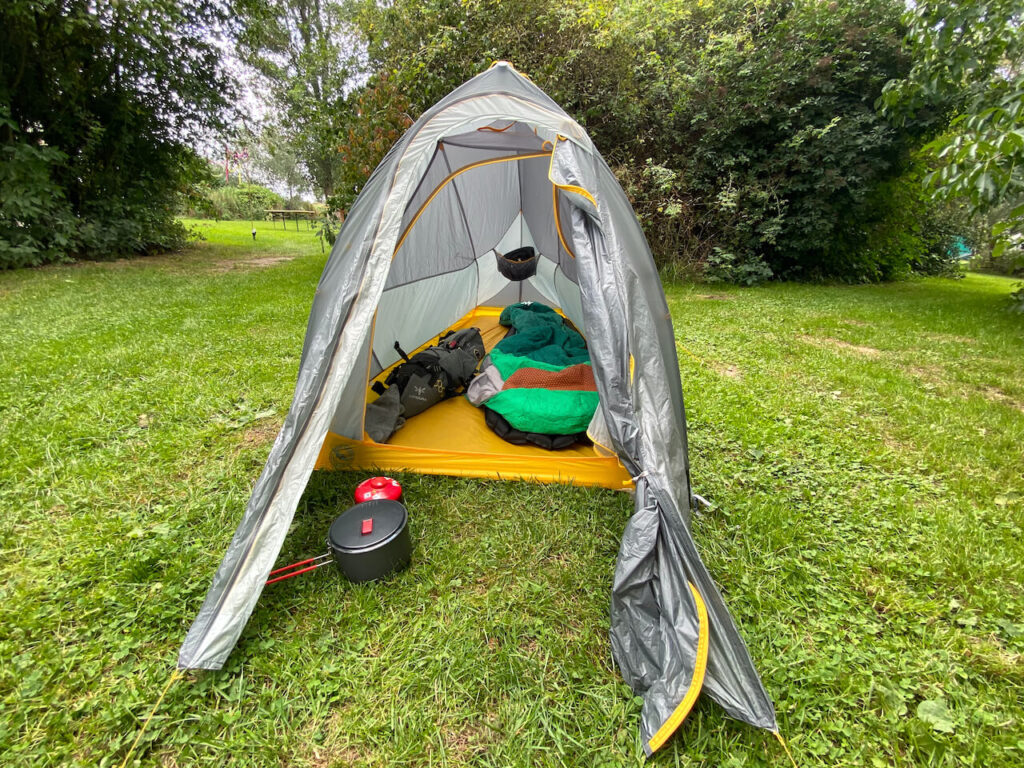 Big Agnes bikepacking tent review