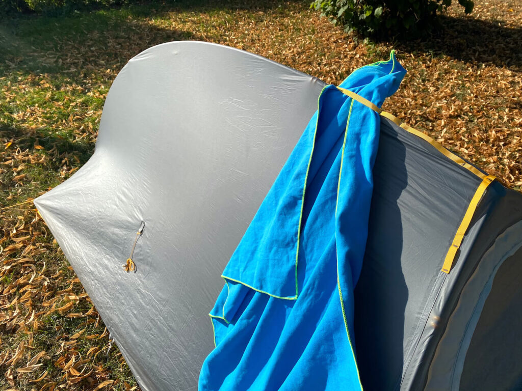 Big Agnes Fly Creek HV UL1 Bikepacking tent review