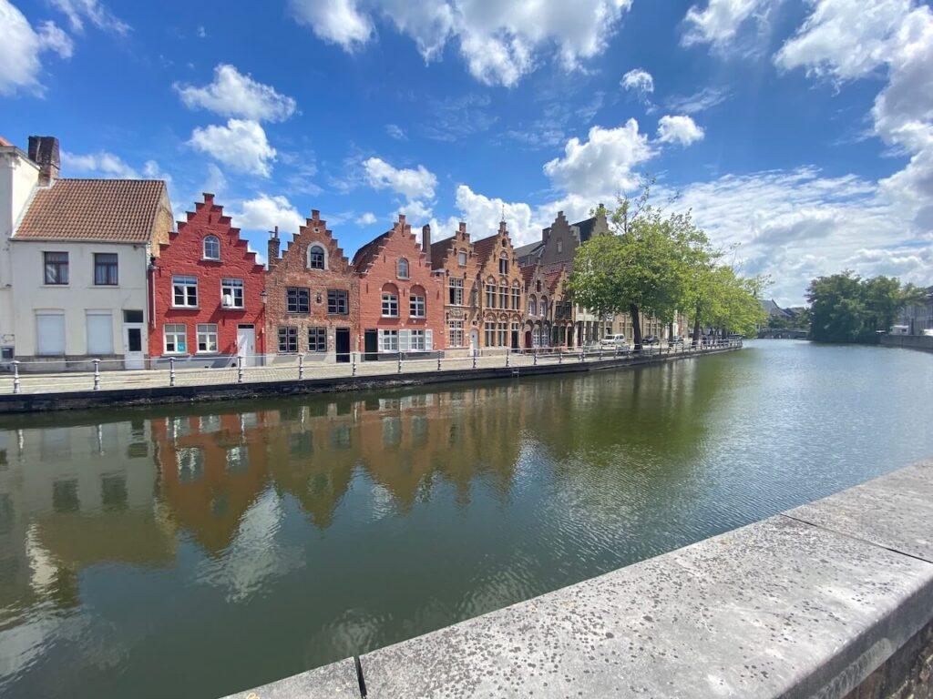 Groene Valleien fietsroute naar België