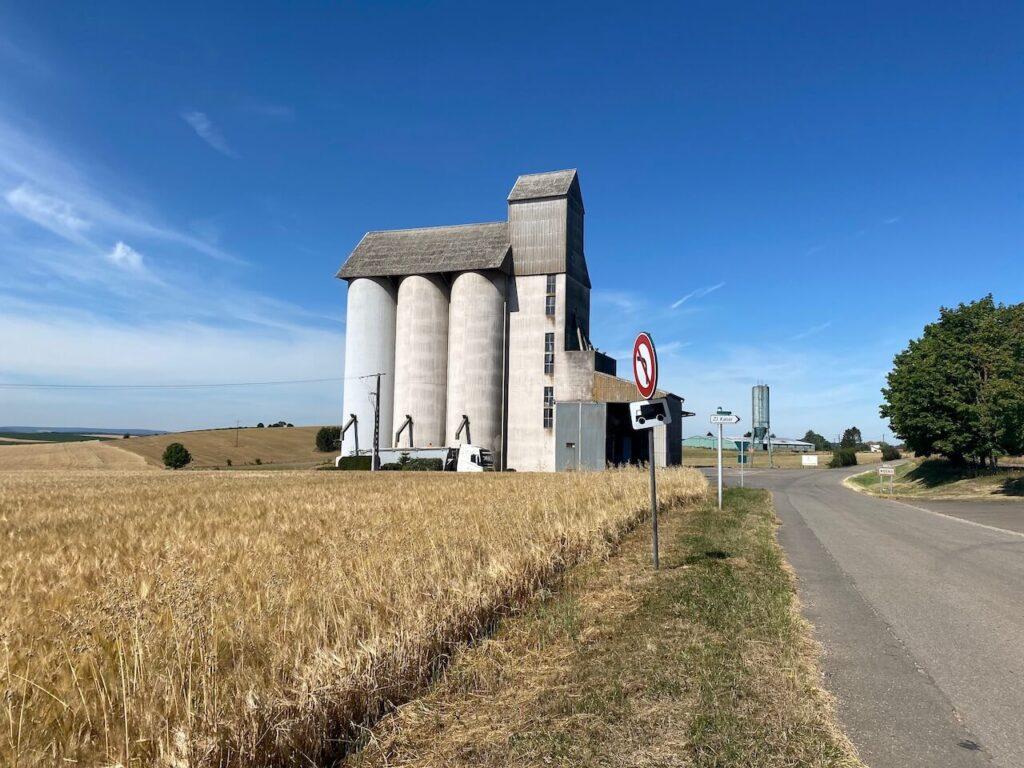 Graanfabriek in Noord-Frankrijk