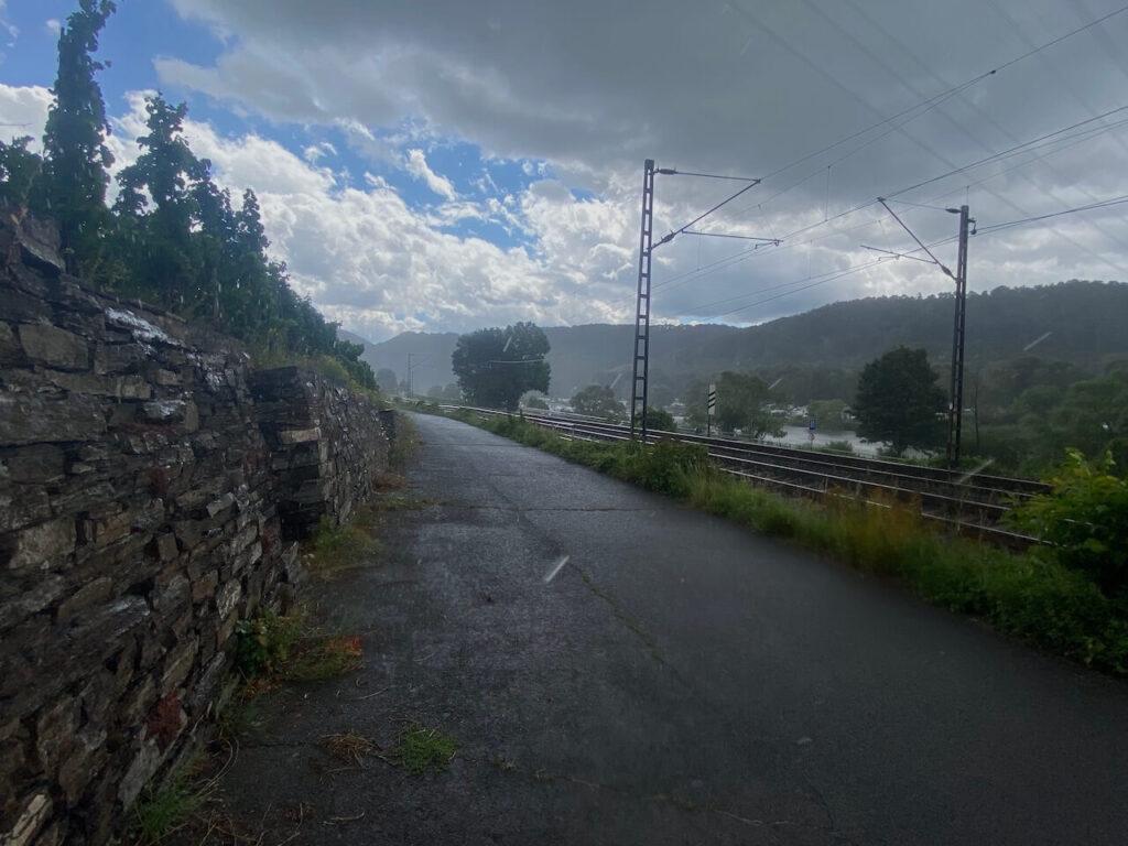 Kobern-Gondorf aan de Moezel, 5 minuten later