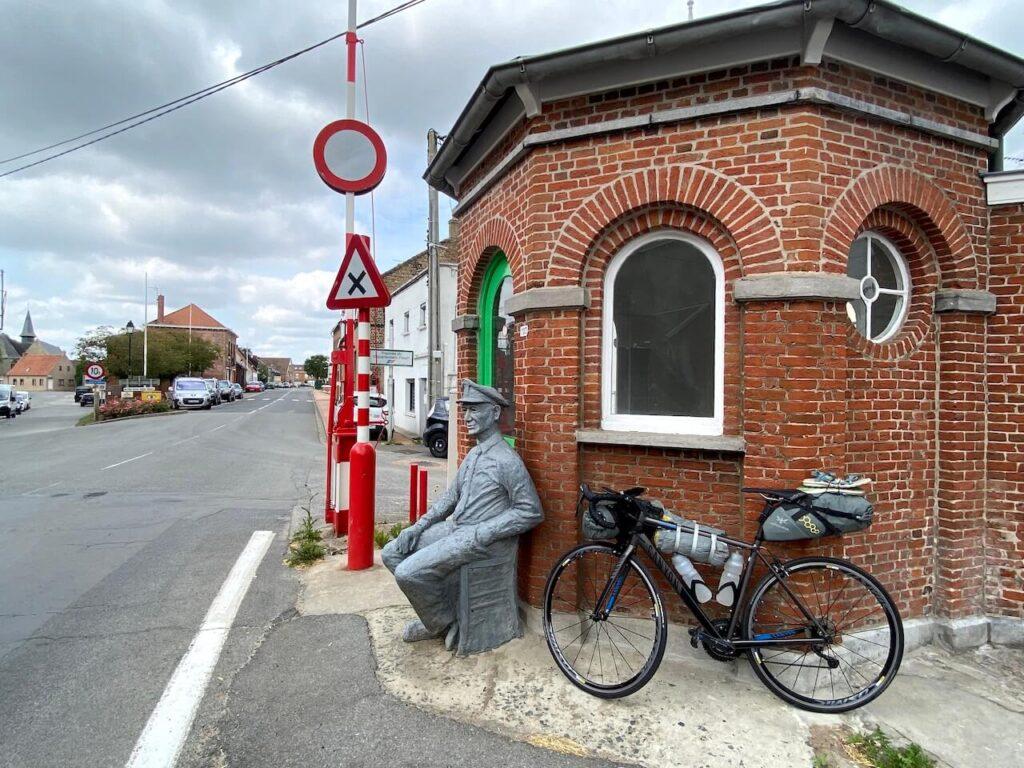 Douanehuisje in Oost-Cappel
