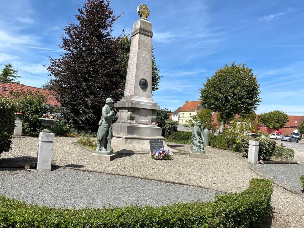 Oorlogsmonument ter nagedachtenis van de slachtoffers van de wereldoorlogen