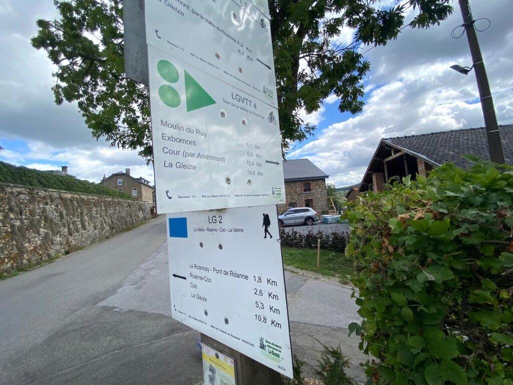 Wandelroutes in de Ardennen