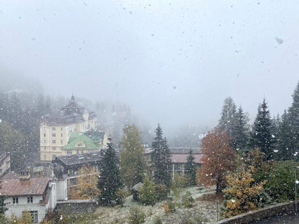 Bad Gastein in de sneeuw