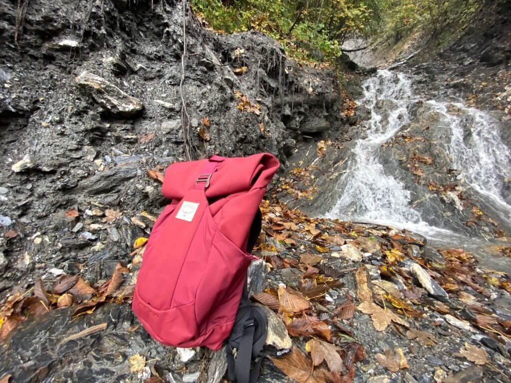 Osprey Archeon 25 rugzak Mud Red voor vrouwen