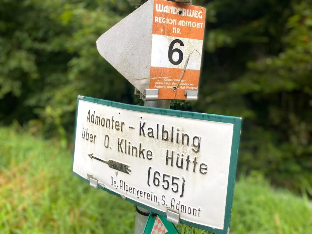 Wandelroutes in Admont, Oostenrijk