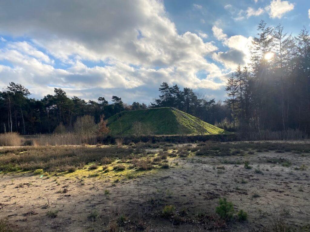 Schietheuvel op de Gorsselse Heide