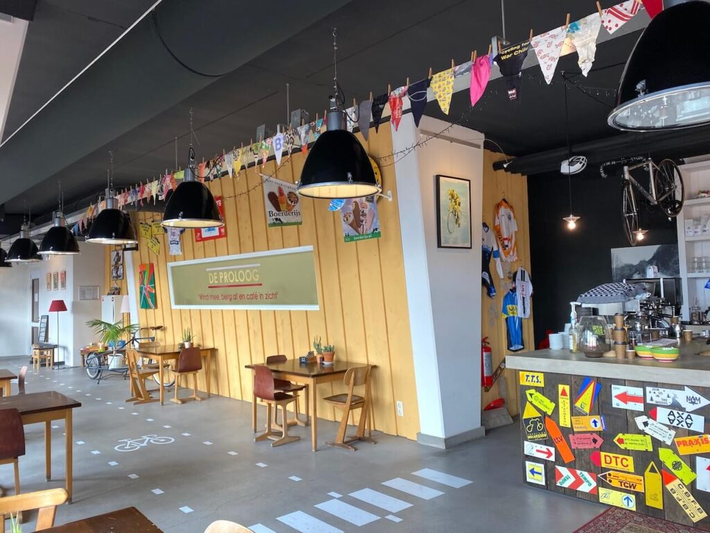 Wielercafe De Proloog in Amerongen