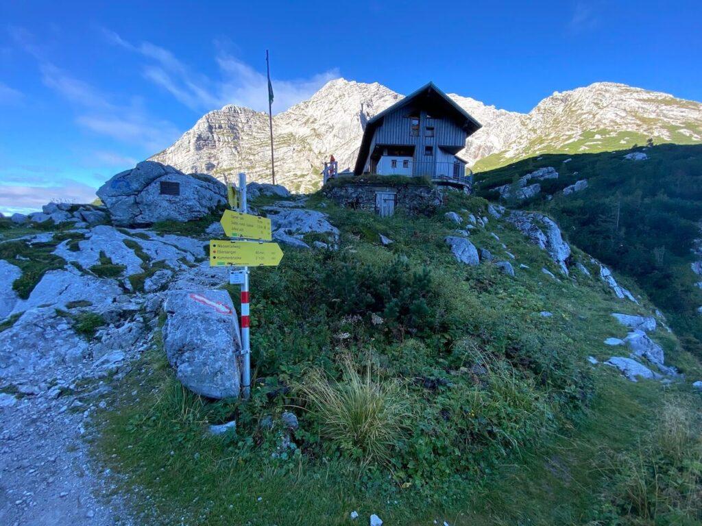 Heßhütte in de Gesäuse in Oostenrijk