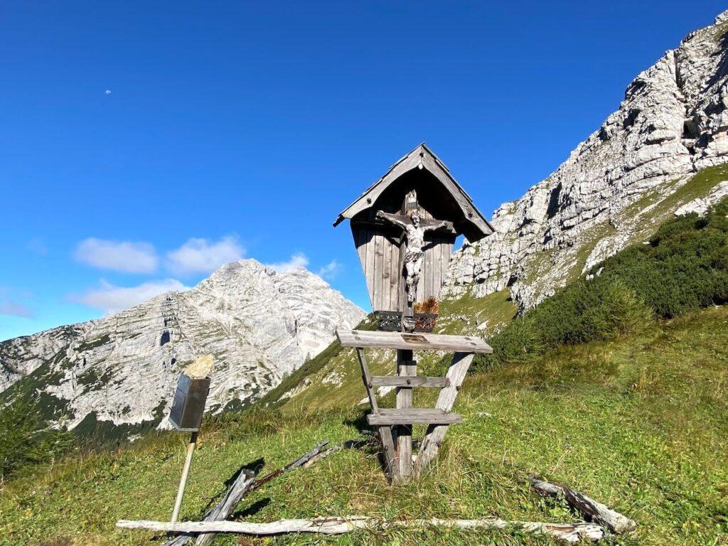 De derde etappe van de Gesäuse Huttentocht in Oostenrijk