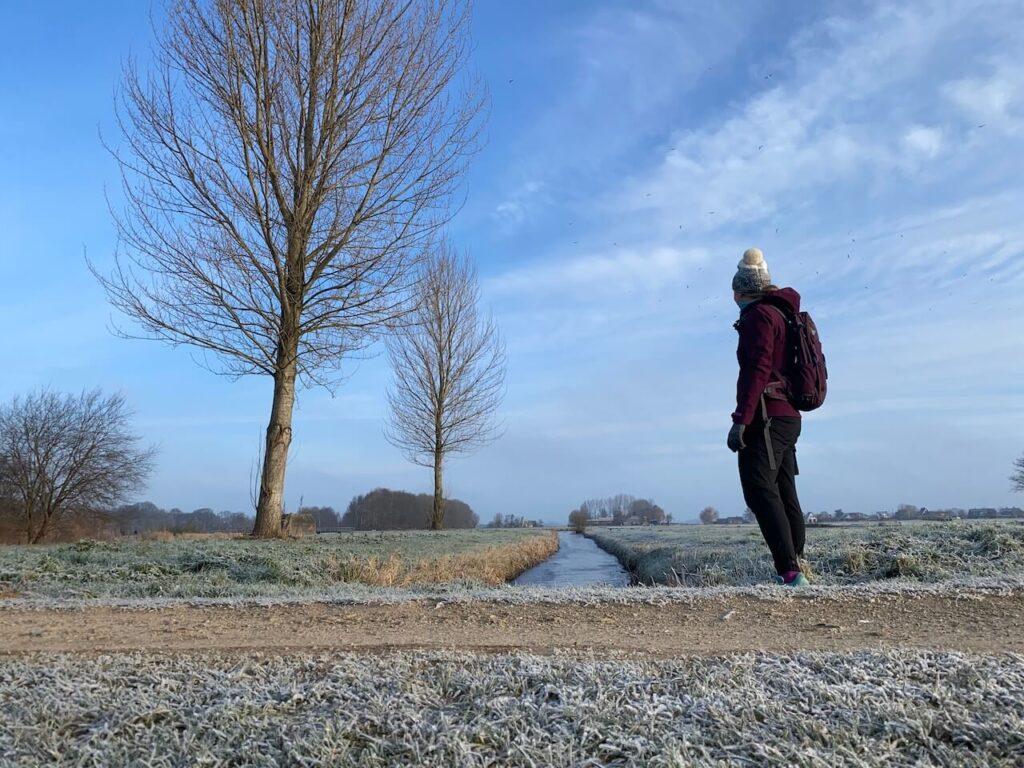 Wandelen door  het Noorderpark-Ruigenhoek