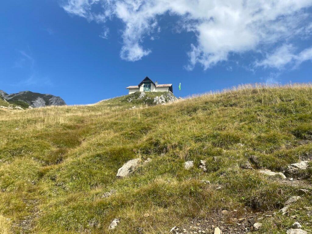 Het Admonter Haus op 1.723 m