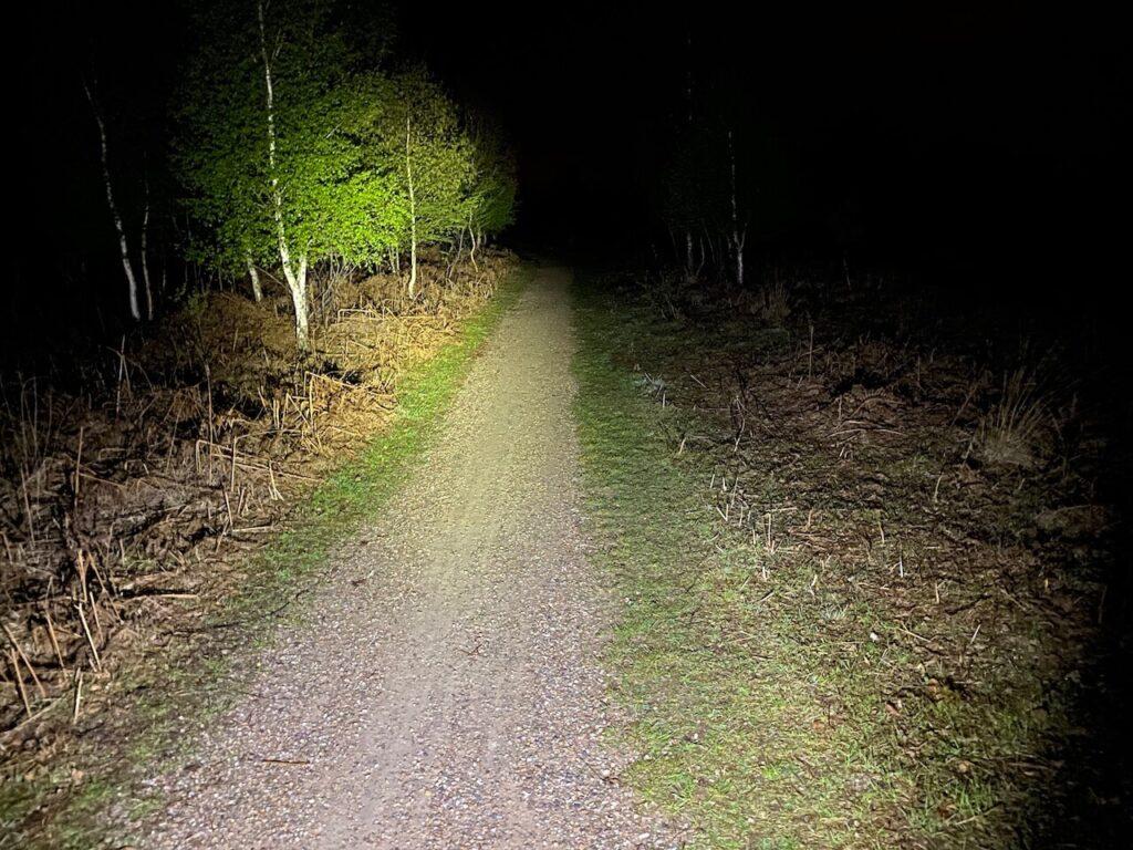 Fietsen door de nacht