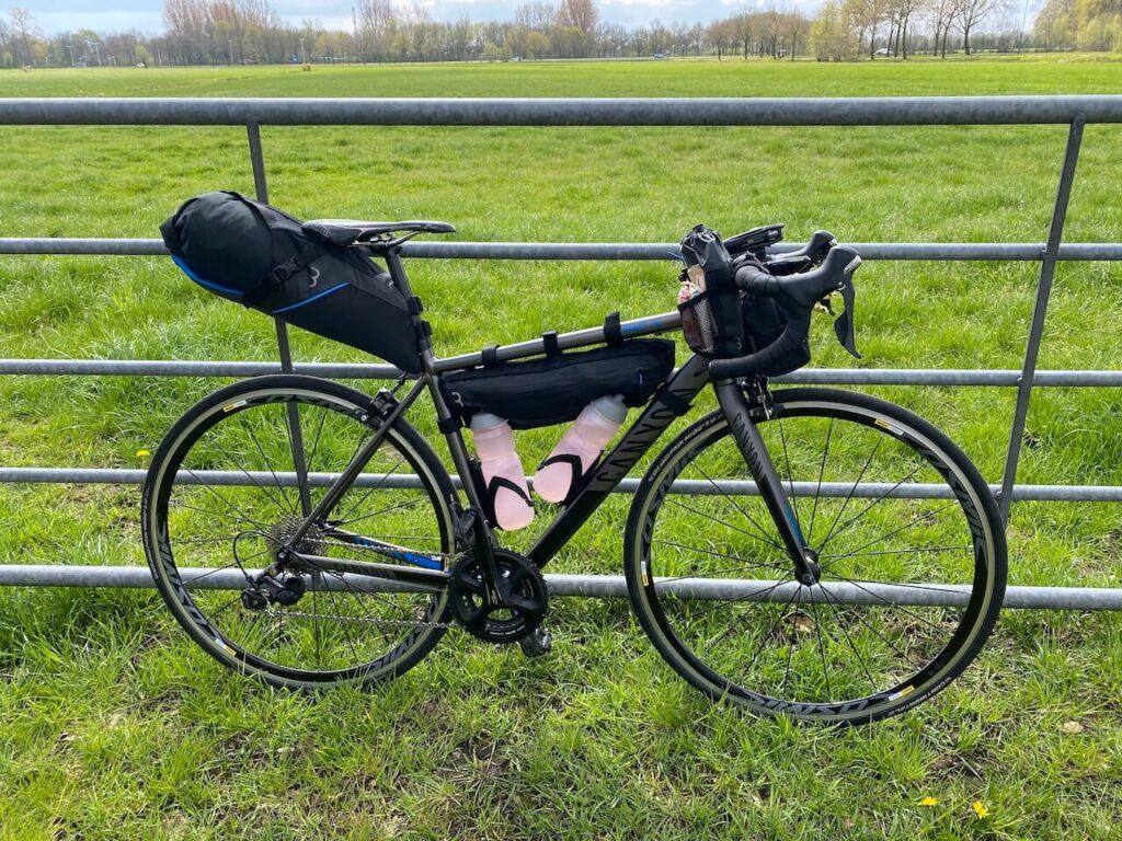 Mijn fiets is er klaar voor